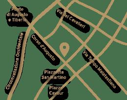 Cinema Fulgor Rimini mappa