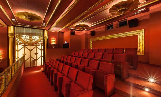 Cinema Fulgor - sala Federico - balconata